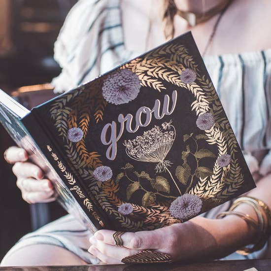 Grow Hardcover Journal