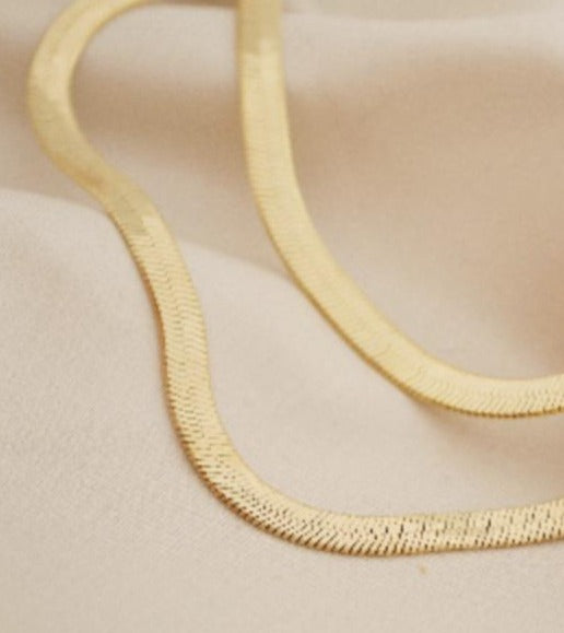 Thick Layering Chain Necklace
