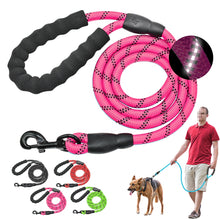 "Load image into Gallery viewer, 60"" Reflective Dog Pet Leash"