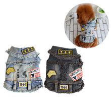 Load image into Gallery viewer, Furbaby Denim Vest