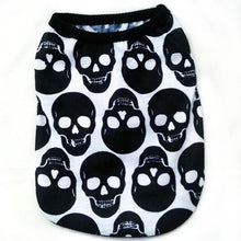 Load image into Gallery viewer, Skull Print Techno T-shirt
