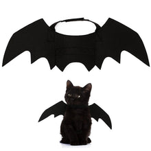Load image into Gallery viewer, Cute Halloween Cat Bat Wings