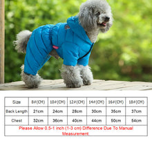 Load image into Gallery viewer, Winter Dog Warm Down Jacket