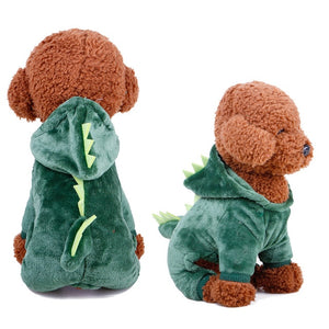 Funny Dog COSTUMES Clothes Winter Warm JACKET