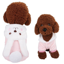 Load image into Gallery viewer, Funny Dog COSTUMES Clothes Winter Warm JACKET