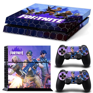 Stickers PS4 Fortnite Violet