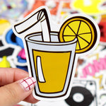 Stickers Aesthetic pour Mug