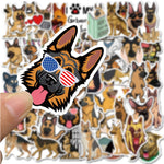 Stickers Berger Allemand Ordinateur