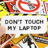 Stickers Chantier pour Laptop