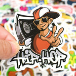 Stickers Danse Hip Hop pour Guitare