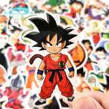 Stickers Dragon Ball pour Bibliotheque