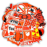 Stickers Graffiti Rouge