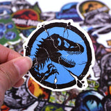 Stickers Jurassic Park pour Skateboard
