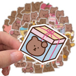 Stickers Kawaii Oursons pour valise
