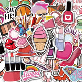 Stickers Maquillage pour Fille