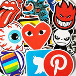 Stickers Marque pour Skateboard