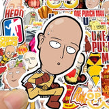 Stickers One Punch Man pour ordinateur