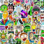 Stickers Rick et Morty