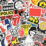 Stickers Rock N Roll