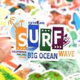 Stickers Surf pour gourde