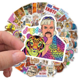 Stickers Tiger King pour velo