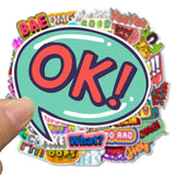 Stickers Wow pour Emballage