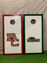 "Load image into Gallery viewer, Rick's ""Solid Color"" Custom Cornhole Set"