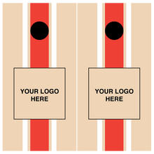 "Load image into Gallery viewer, Rick's ""Center Stripe"" Custom Cornhole Set"
