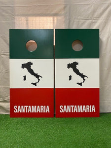 "Rick's ""Solid Color"" Custom Cornhole Set"