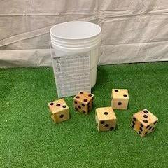 Outdoor Yard Dice Game