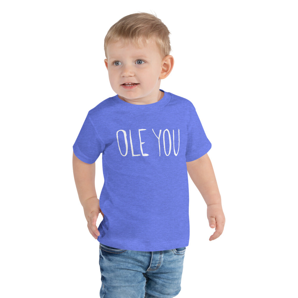 "Toddler Short Sleeve Tee ""Eco friendly"""