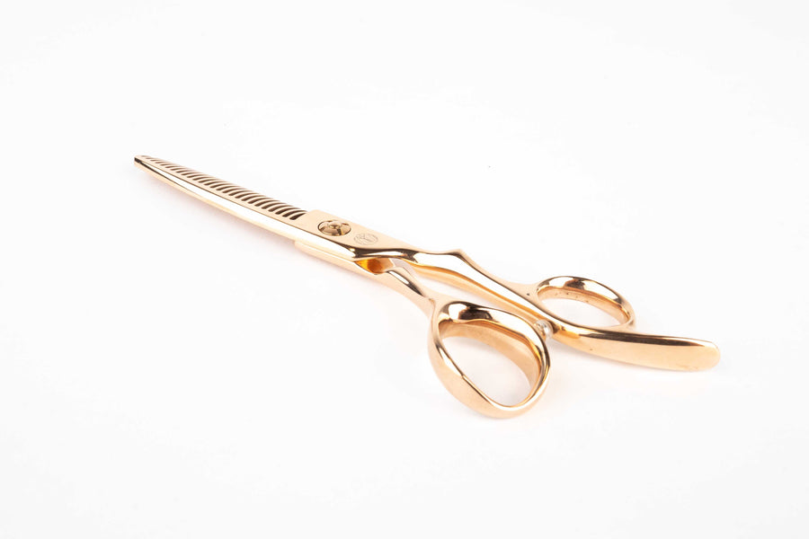 Indiana Light Rose Gold 6 inch Thinning Scissor