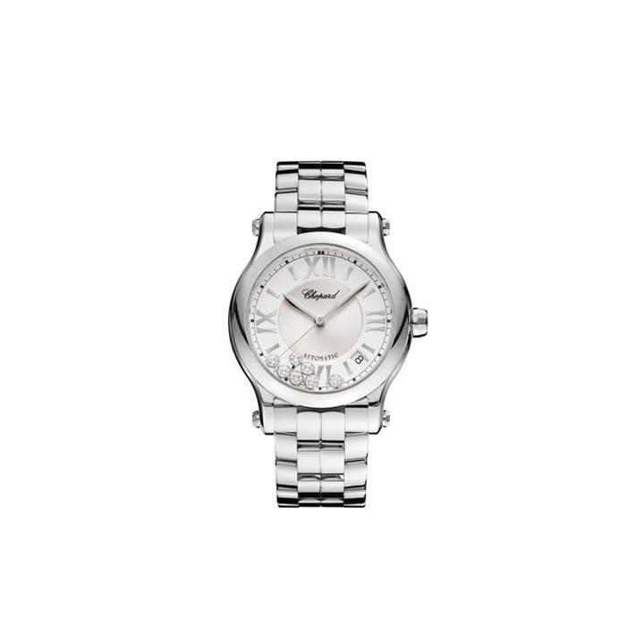 CHOPARD  <p> Reloj Happy Sport </p> <p> Acero </p> <p> <FONT SIZE=2>  278559-3002 </font> </p>