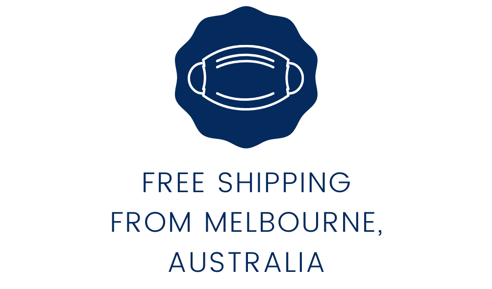 free shipping on all face mask orders from Melbourne Australia