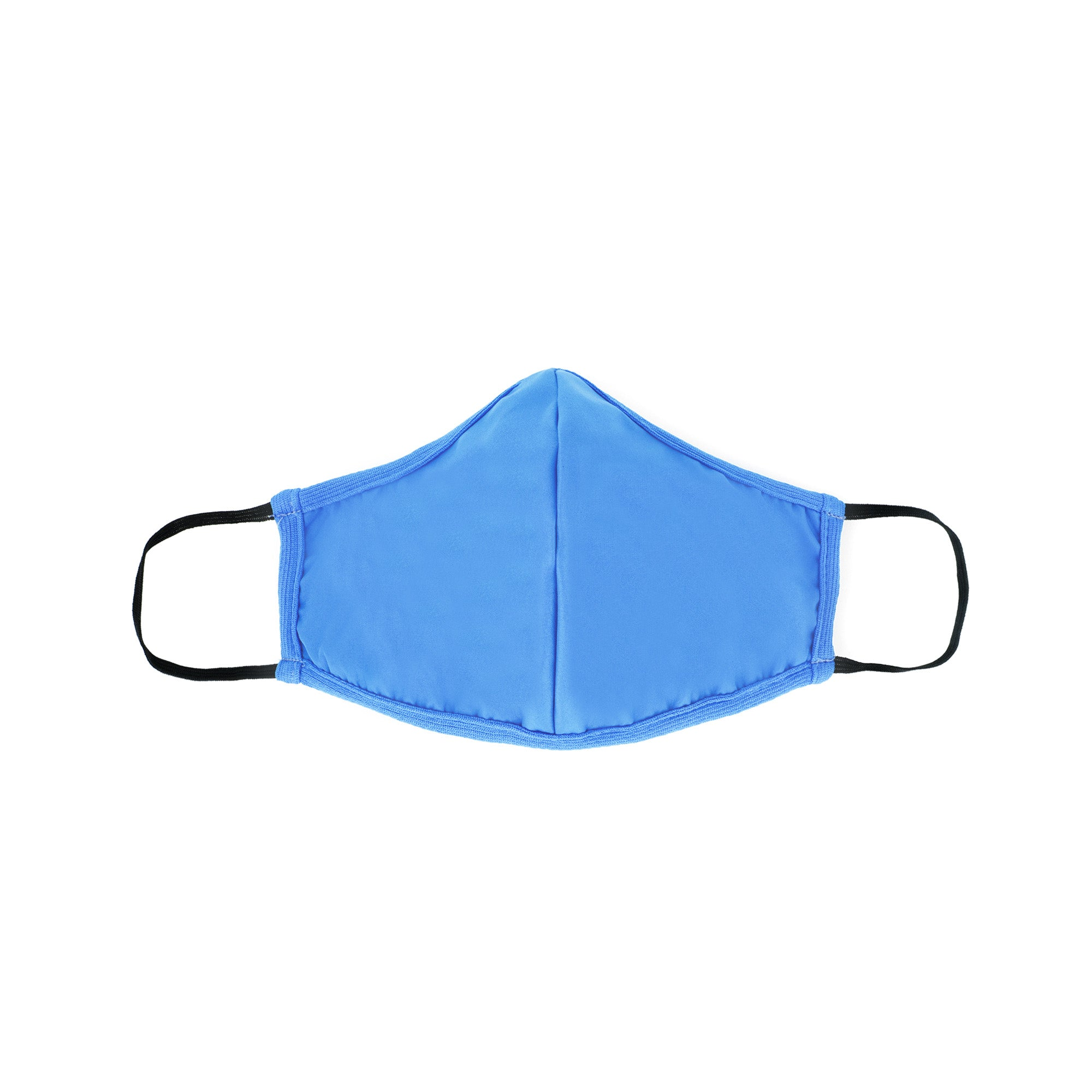 Masks for Change Moisture Resistant Triple Layers of Fabric moisture resistant anti microbial light and breathable sky blue