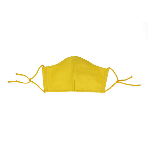 Sunshine yellow Masks for Change Resort Collection Moisture Wicking Anti Microbial Triple Layer Fabric Reusable Washable Face Mask