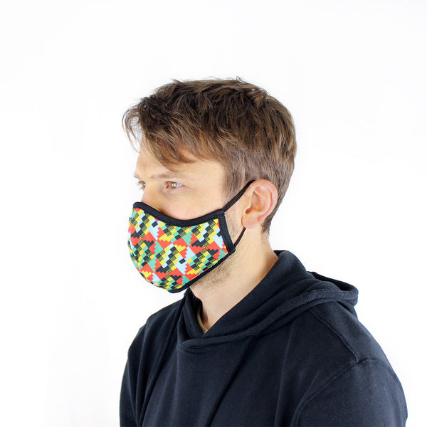 Back to School Special: Small Active Collection Mask 3 Pack (Multi Print x 3)