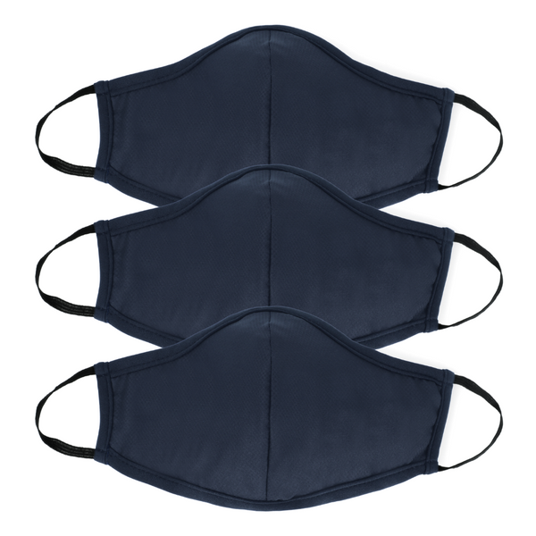 Active Collection Mask 3 Pack (Navy)