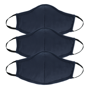 Kids Active Collection Mask 3 Pack (Navy)