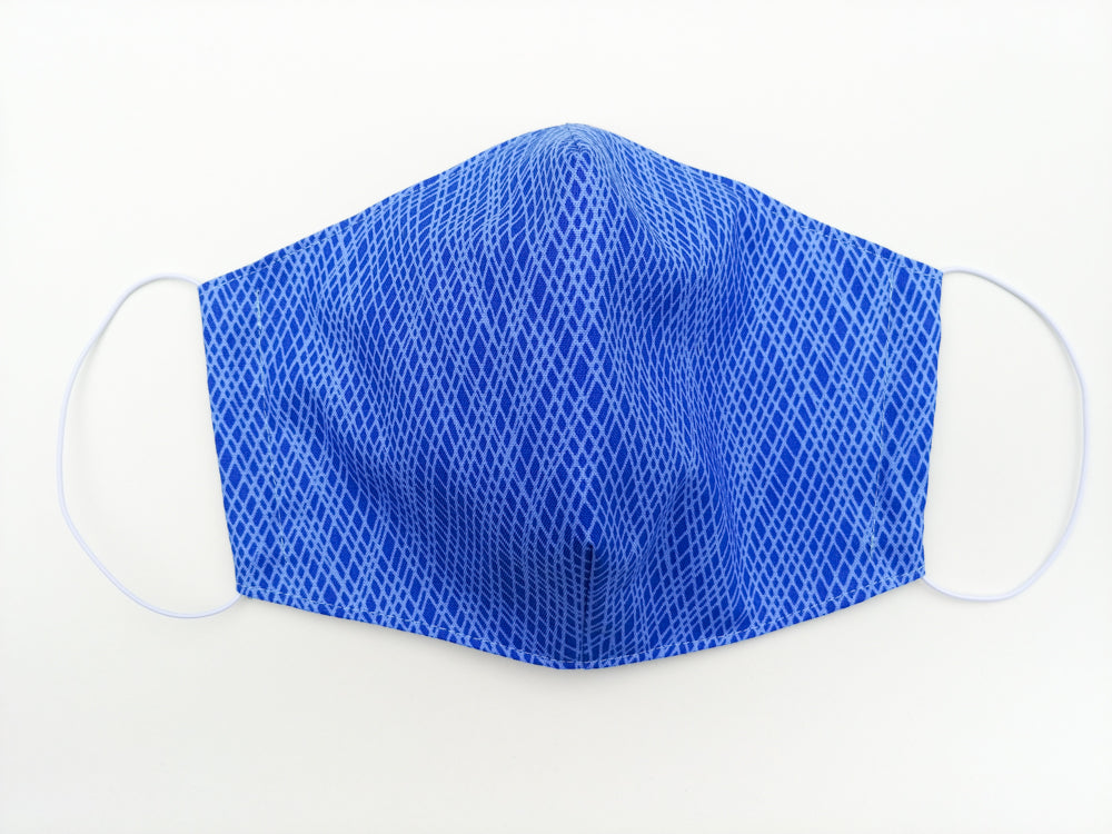 Face mask - size large (Blue)
