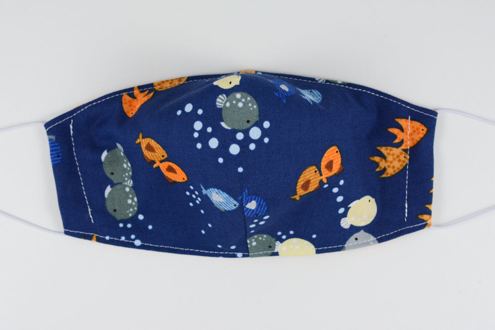 Face mask - size small (Fish)