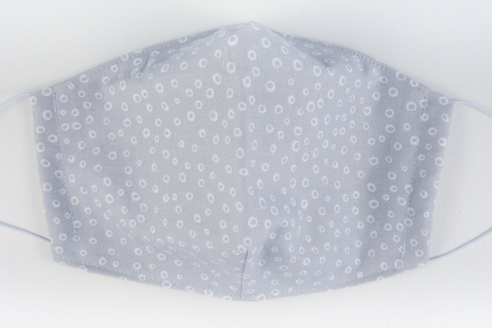 Face mask - size large (Grey spots)