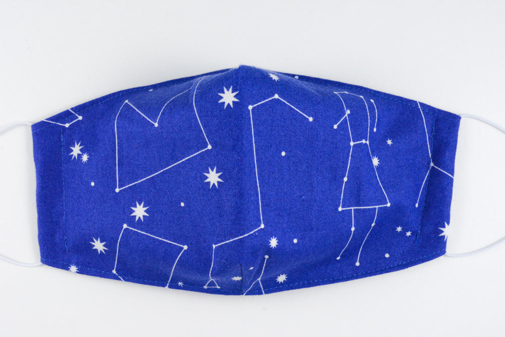 Face mask - size medium (Constellations)