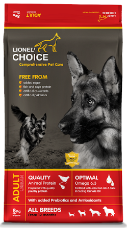 Lionel's Choice Adult Dry Dog Food