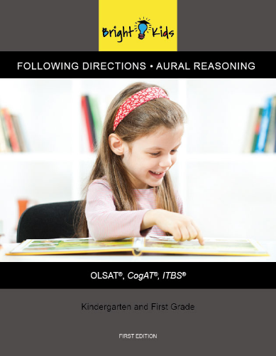 Following Directions & Aural Reasoning (Kindergarten & 1st Grade)