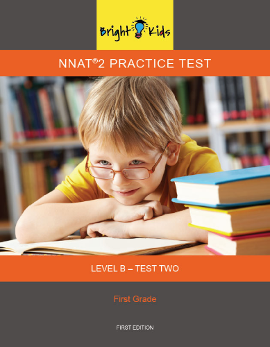 NNAT 2 Practice Test Level B - Test Two (1st Grade)