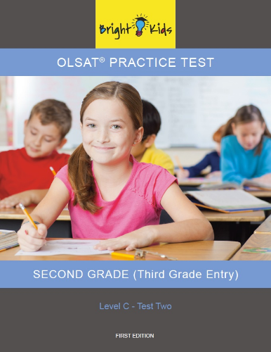 OLSAT Practice Test - Level C / Test Two (3rd Grade Entry)