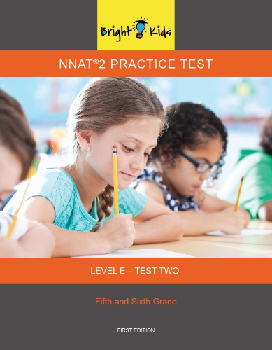 NNAT 2 Practice Test Level E - Test Two (5th & 6th Grade)