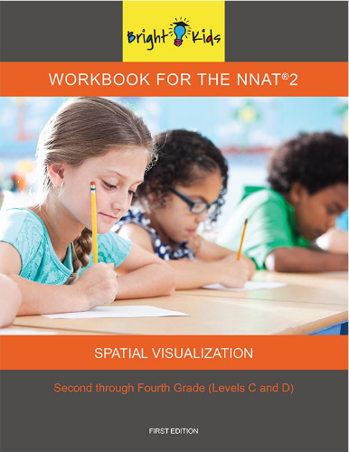 Spatial Visualization Workbook - Levels C & D (3rd & 4th Grade)