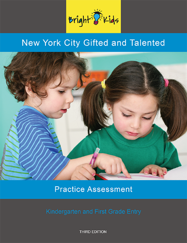 NYC G&T Practice Assessment - Test One (K & 1st Grade Entry)